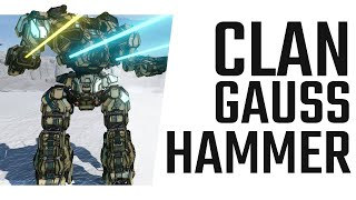 Clan Gauss Hammer - Warhammer IIC Build - Mechwarrior Online The Daily Dose #813