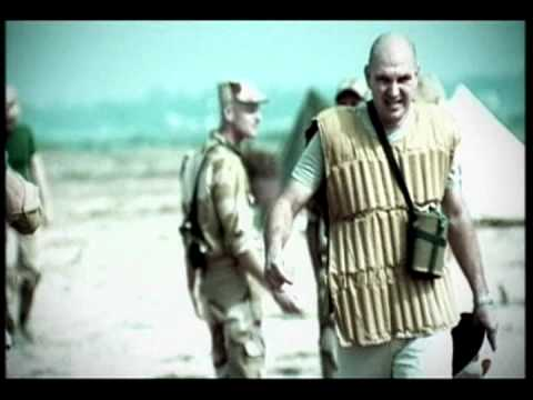 funny crazy football American vs Iraqi soldiers