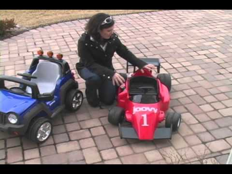 Baby Gizmo Joovy 4x4 and Racecar Ride-ons Review
