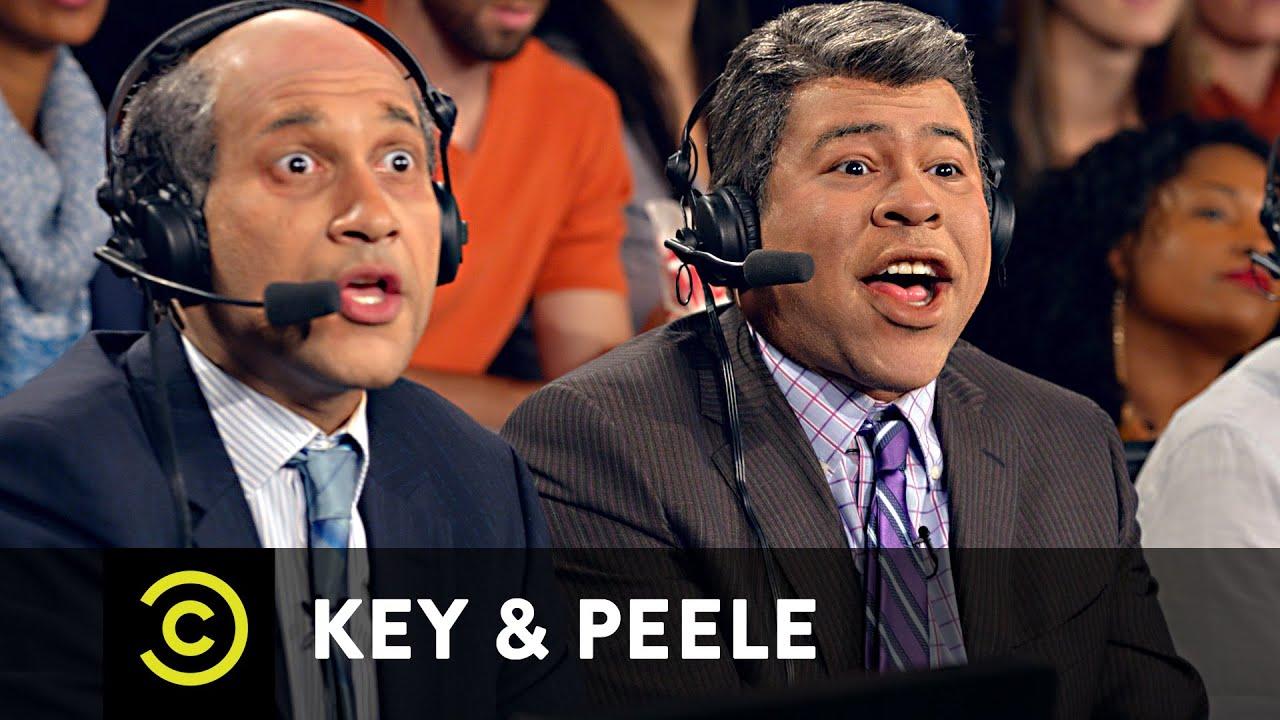 Key & Peele – Basketball Commentary