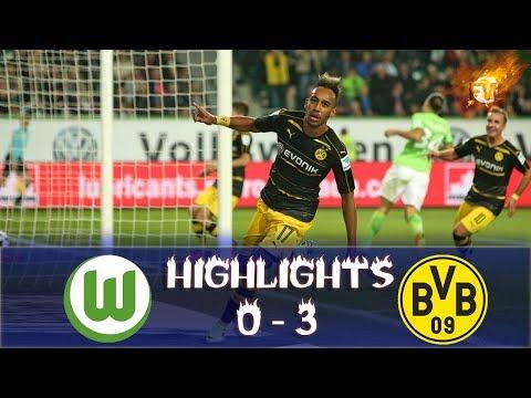Wolfsburg vs Borussia Dortmund 0 3 All Goals & Highlights