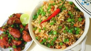 Schezwan Fried Rice Recipe in Tamil