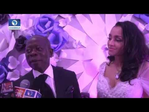 Metrofile: Edo State Governor, Adams Oshiomhole, Marries Cape Verdean Sweetheart