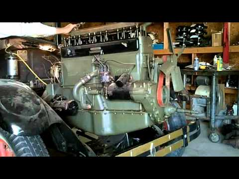 Removing 1926 buick engine