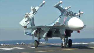 Video The Sukhoi Su-33 in action in Syria MP3, 3GP, MP4, WEBM, AVI, FLV Januari 2019