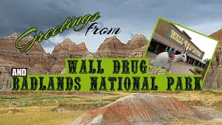 Wall (SD) United States  City pictures : Wall Drug AND Badlands National Park, South Dakota