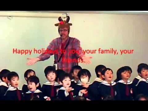 おゆみの幼稚園Merry Christmas.