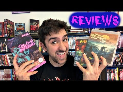 HORRORS OF MALFORMED MEN (1969) And THE PYJAMA GIRL CASE (1977) Arrow Video Blu-Ray Review