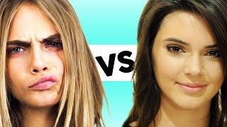 Cara Delevingne vs Kendall Jenner - Best Model of 2014