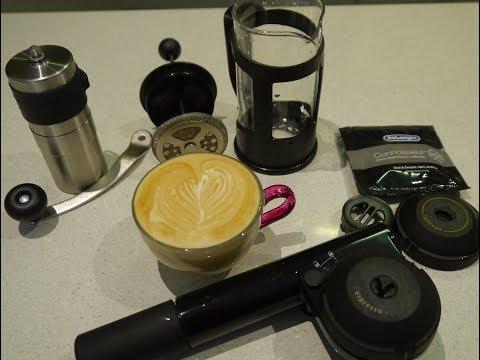 Handpresso tips, and comparison with Nespresso and AeroPress Espresso Coffee