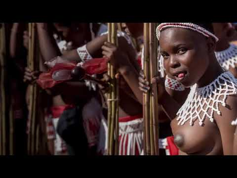 African Swazi culture dance and life