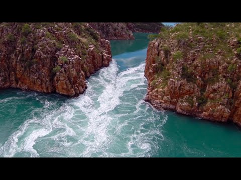 The WILDEST boating scene you'll ever see (Horizontal Falls - The Kimberley, WA)