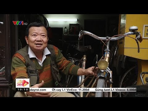Người đàn ông Hà Nội bán nhà mặt phố để sưu tầm xe đạp cổ @ vcloz.com