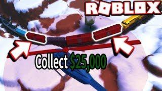 Jailbreak MythBusters - ROBBING THE TRAIN 2X+ FOR MAX CASH!!! (Roblox Jailbreak)