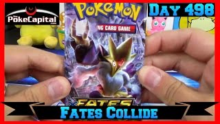 Pokemon Pack Daily XY Fates Collide Booster Opening Day 498 - Featuring ThePokeCapital by ThePokeCapital