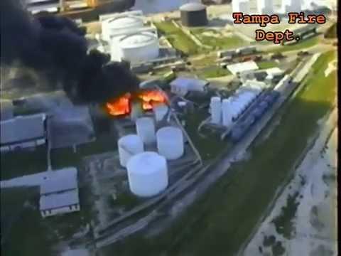 GATX tank farm fire, September 24, 1990