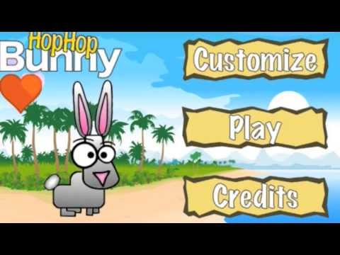 Video of Hop Hop Bunny, the platformer