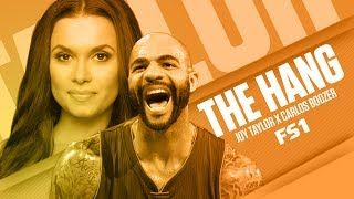 Joy Taylor and Carlos Boozer talk 2017 NBA Finals (Streamed Live on 5/29/17)   THE HANG