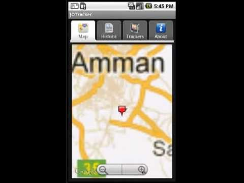 Video of GPS Tracker by SMS -Ar- Free