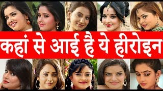 Video भोजपुरी के सभी हीरोइन के बारे में सब कुछ जानिए Amrapali Dubey - Kajal Raghwani - Akshara Singh download in MP3, 3GP, MP4, WEBM, AVI, FLV January 2017
