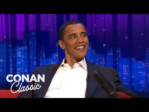 """Barack Obama's 2006 Interview On """"Late Night With Conan O'Brien"""""""