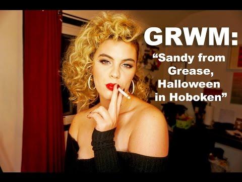 GRWM: Sandy from Grease Halloween in Hoboken
