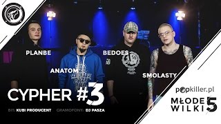 Video PlanBe, Anatom, Bedoes, Smolasty - Popkiller Młode Wilki 5 - Cypher #3 (prod. Kubi Producent) MP3, 3GP, MP4, WEBM, AVI, FLV Juni 2018