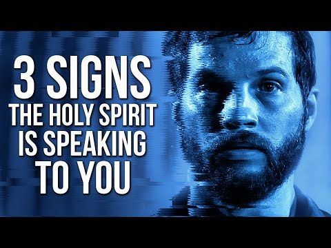 3 Signs The Holy Spirit Is Speaking To You