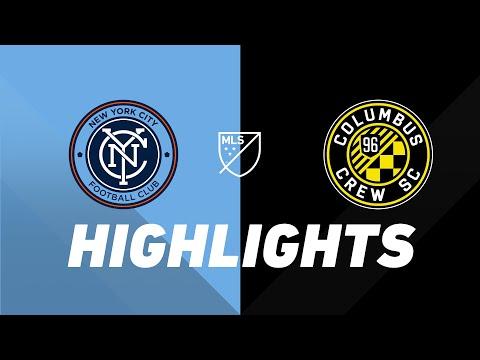 Video: NYCFC vs. Columbus Crew | HIGHLIGHTS - August 21, 2019