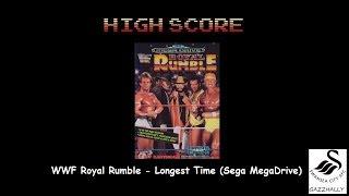 WWF Royal Rumble: Royal Rumble match [Longest Time] (Sega Genesis / MegaDrive Emulated) by gazzhally