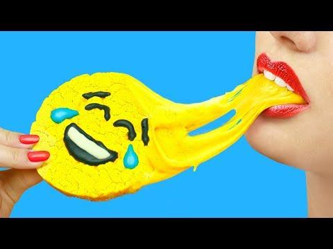 8 DIY Edible Stress Relievers / DIY Edible Slime Candy (видео)