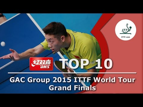 DHS ITTF Top 10 - 2015 World Tour Grand Finals