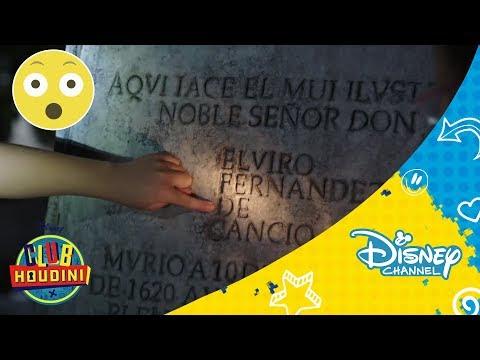 Club Houdini: Ep. 7 T2: Pista - No es serio este cementerio    Disney Channel Oficial