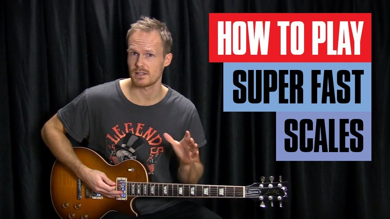 Crazy Speed Tricks – How to Play Fast Guitar Scales | Guitar Tricks