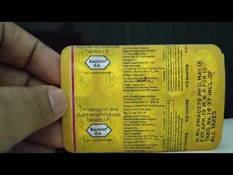 Full Hindi: Bactrim Ds tablets for urinary infection