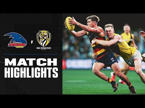 Adelaide v Richmond Highlights | Round 18, 2020 | AFL