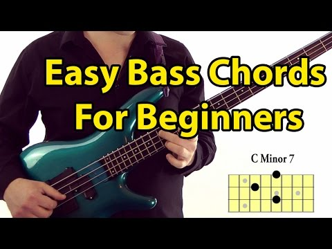 Easy Bass Guitar Chords for Beginners (L#87)