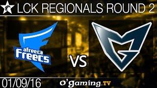 Samsung Galaxy vs Afreeca Freecs - LCK Regionals - Round 2