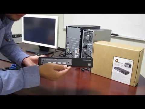 How to Install a Keyboard Video Mouse (KVM) Switch