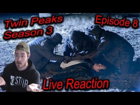 TWIN PEAKS SEASON 3 EPISODE 8 LIVE REACTION - *Explicit language* (RE-UPLOAD)