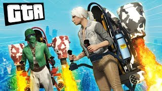 ATTACK OF THE JET PACKS | GTA 5