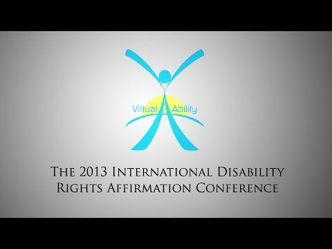 Disability Rights Around the World – International Panel #1