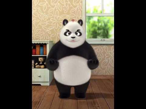 Slap panda's face