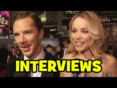 "Watch ""Doctor Strange"" World Premiere Interviews – Benedict Cumberbatch, Tilda Swinton, Rachel McAdams & Movie Review"