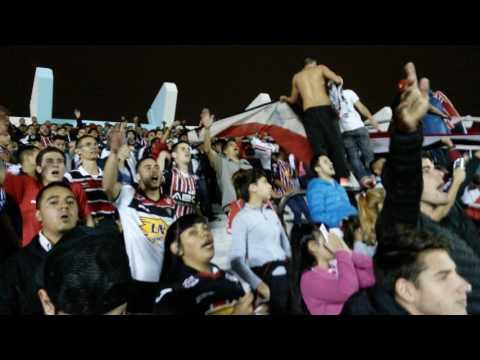 Himno Argentino + GOL de CHACA + aliento de la hinchada vs Estudiantes SL - La Famosa Banda de San Martin - Chacarita Juniors