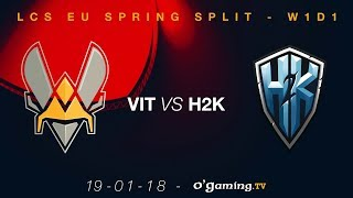 Video Vitality vs H2K - LCS EU Spring Split 2018 - Week 1 Day 1 - League of Legends MP3, 3GP, MP4, WEBM, AVI, FLV Juli 2018