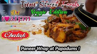 Trini Street Foods - Paneer Wrap at Papadums