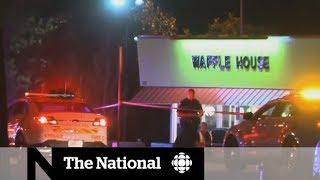 Naked gunman kills four at Nashville Waffle House