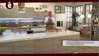 Bekèr - 07 - Filetto di maiale salsiccia e peperoni grigliati