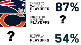 What is Every Team's Chance to Make the Playoffs Heading into Week 7? by NFL